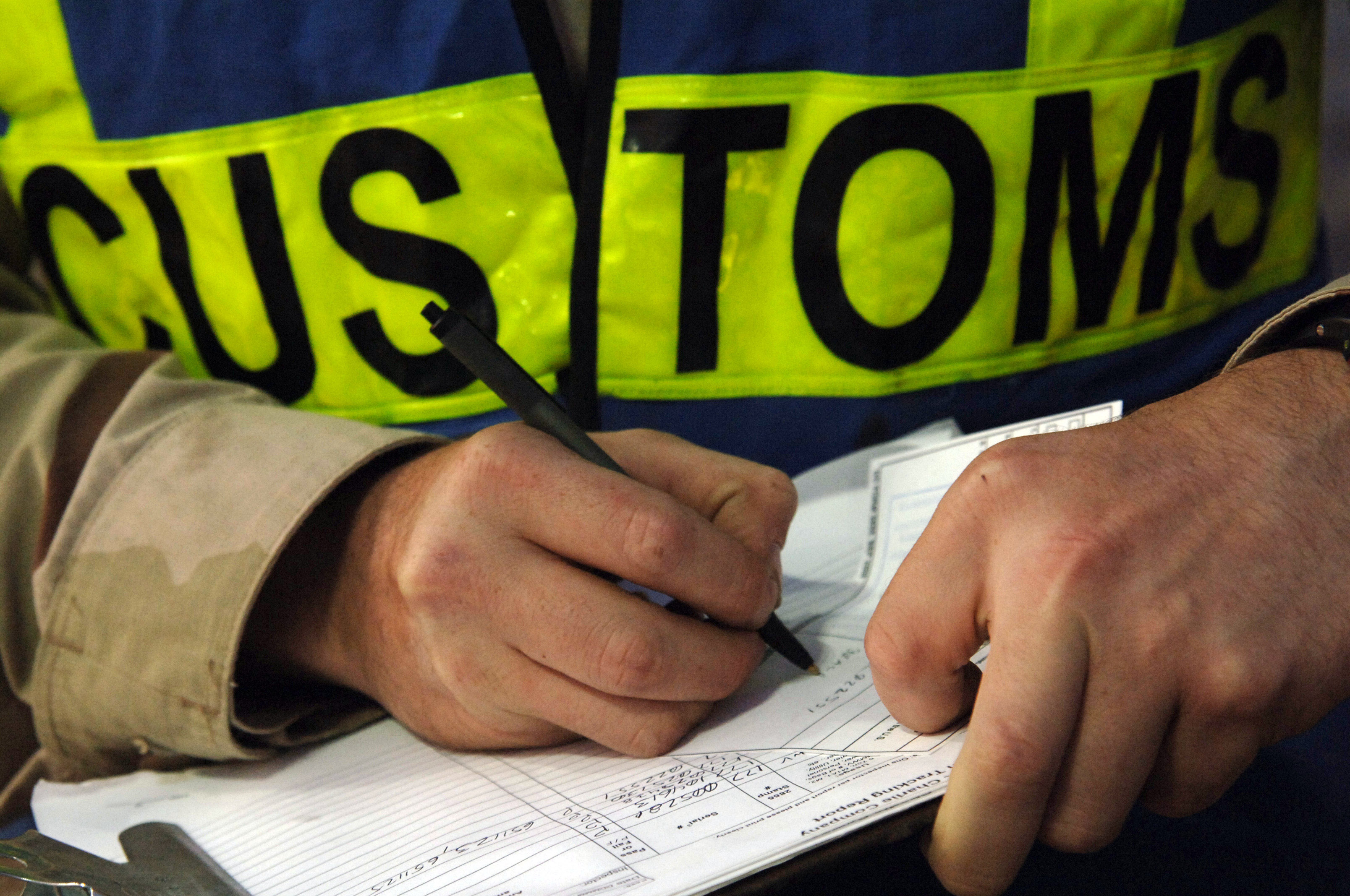 iran customs clearance information for imports